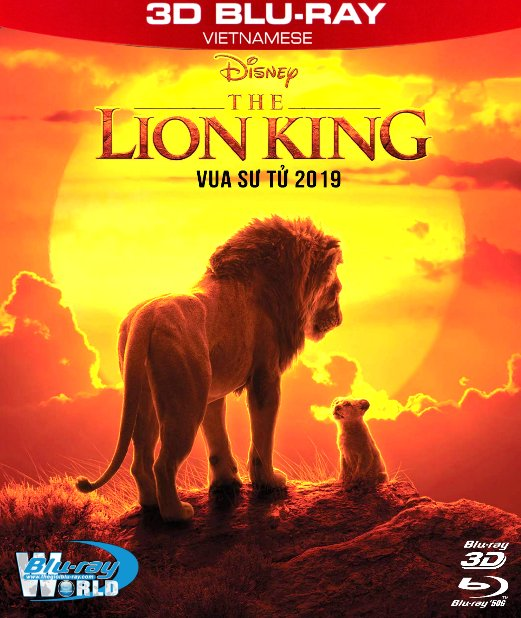 Z290. The Lion King 2019 - Vua Sư Tử 3D50G (DTS-HD MA 7.1)