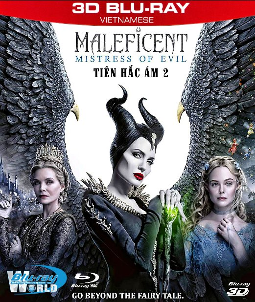 Z296. Maleficent: Mistress of Evil 2019 - Tiên Hắc Ám 2 3D50G (DTS-HD MA 7.1)