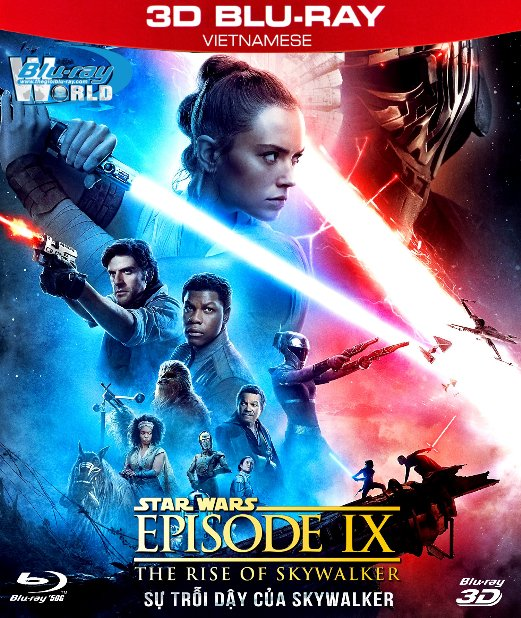 Z297. Star Wars Episode IX - The Rise of Skywalker 2019 - Star Wars 9 : Sự Trỗi Dậy Của Skywalker 3D50G (DTS-HD MA 7.1)