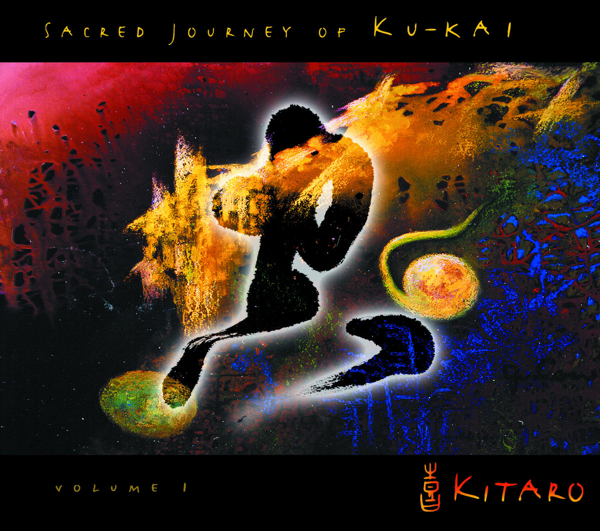 CD Kitaro ‎– Sacred Journey Of Ku-Kai, Volume 1
