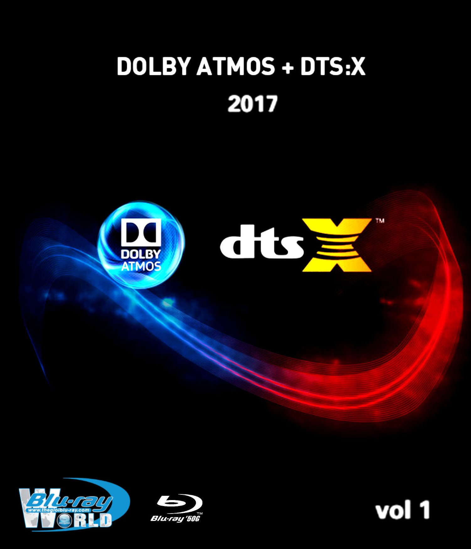 F1177.Bluray Test Collection Demo Disc Vol.1 2017 (50G)