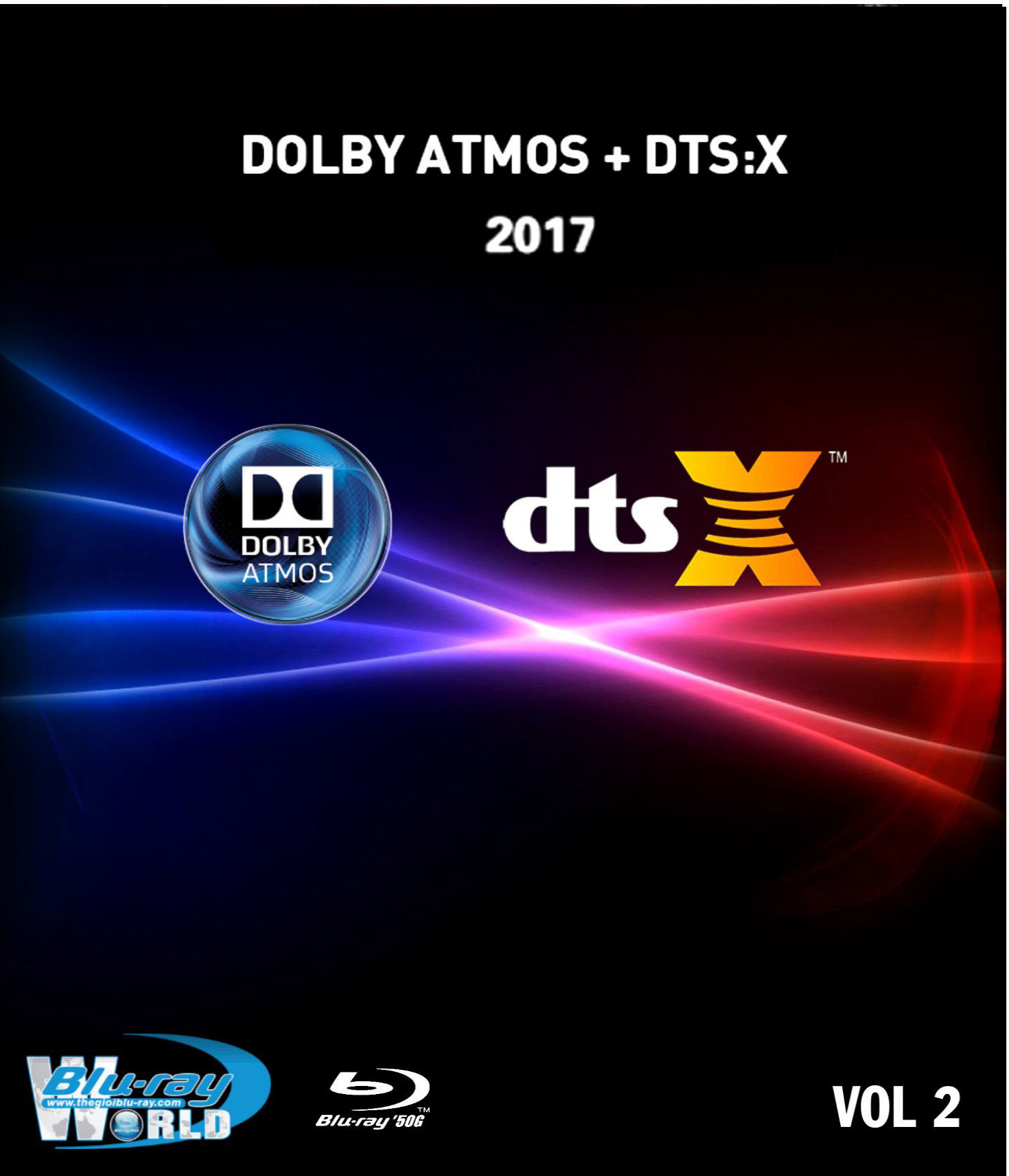 F1178.Bluray Test Collection Demo Disc Vol.2 2017 (50G)