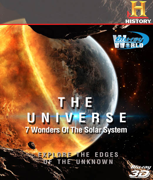 F088.Universe 7 Wonders of the Solar System 3D 50G