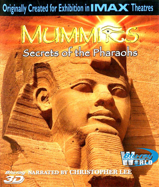 F093. Mummies Secret of the Pharaohs 3D 50G