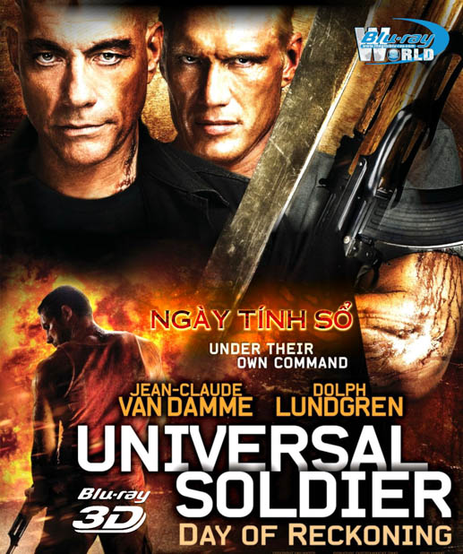 F243. Universal Soldier:A New Dimension 3D 50G