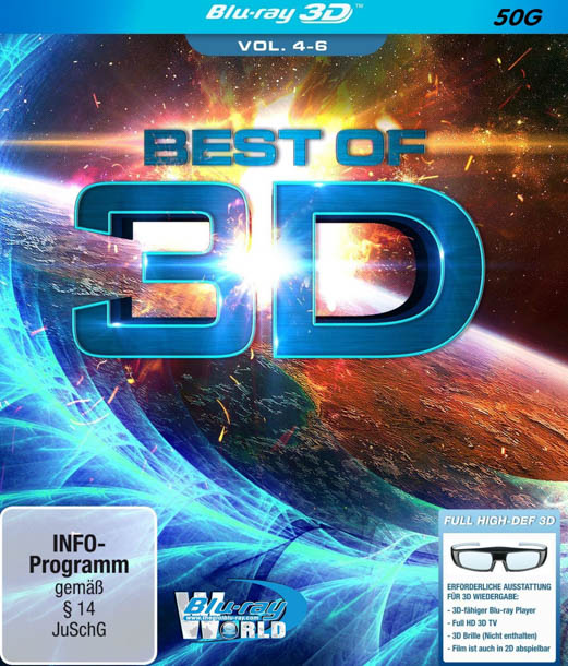 F260. Best of 3D Vol 4 - 6 (50G)