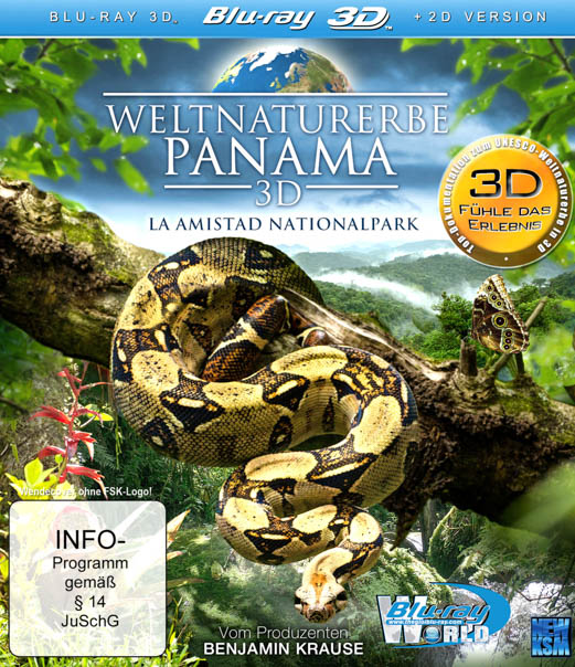 F280 - World Natural Heritage Panama 2012 2D+3D