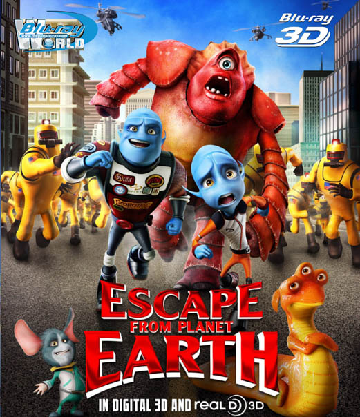 F287 - Escape From Planet Earth 3D 50G (DTS-HD MA 5.1)