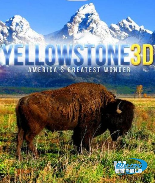 F399. World Natural Heritage USA 3D Yellowstone Nationalpark 3D
