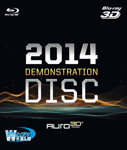 F696. AURO 3D Demonstration Disc 2014 (50G)