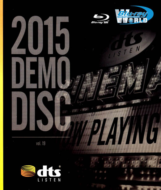 F744.DTS Blu-Ray Demo Disc 2015  Vol.19 (50G)