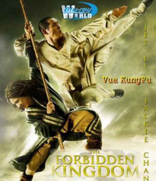 F1848 .The Forbidden Kingdom - Vua kungfu 2D50G (DTS-HD 7.1)