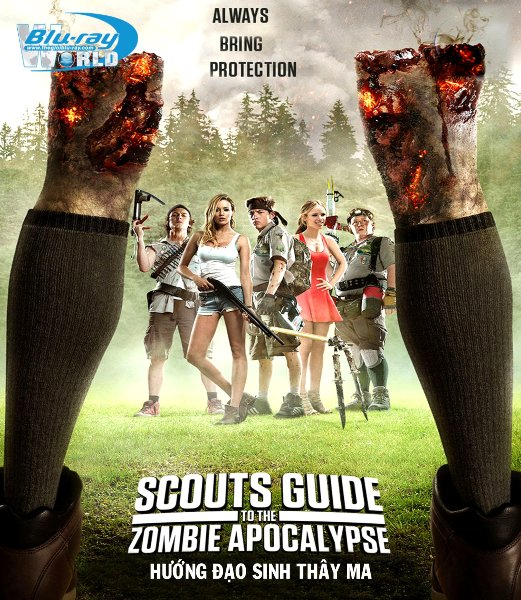 B2360. Scouts Guide to the Zombie Apocalypse 2015 - HƯỚNG ĐẠO SINH THAY MA 2D25G (DTS-HD MA 5.1)