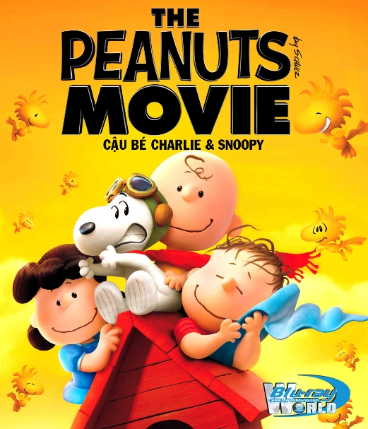 B2438. The Peanuts Movie 2015 - CẬU BÉ CHARLIE VÀ SNOOPY 2D25G (DTS-HD MA 5.1)