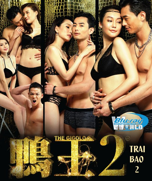B2484. THE GIGOLO 2 - TRAI BAO 2 2D25G (DOLBY TRUE- HD 7.1 )