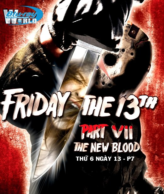 B2618. Friday the 13th Part 7 : The New Blood - Thứ 6 Ngày 13 P7 : Máu Lại Đổ 2D25G (DTS-HD MA 5.1)