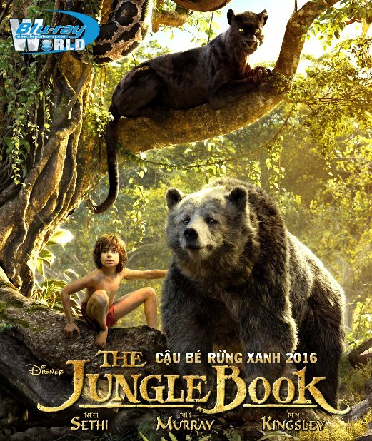 B2637. The Jungle Book 2016 - Cậu Bé Rừng Xanh 2016 2D25G (DTS-HD MA 7.1)