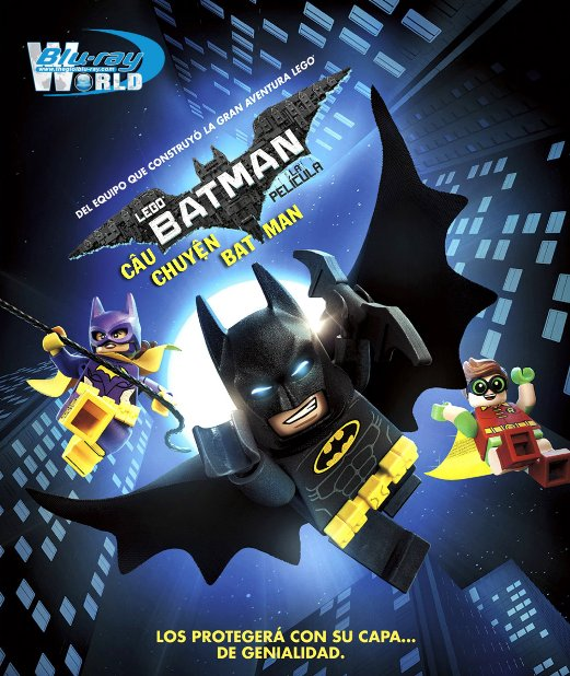 B3017.The LEGO Batman Movie 2017 - Câu Chuyện Batman  2D25G (TRUE - HD 7.1 DOLBY ATMOS)