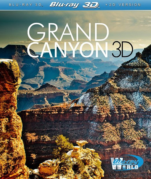 F398. World Natural Heritage USA 3D Grand Canyon 2012