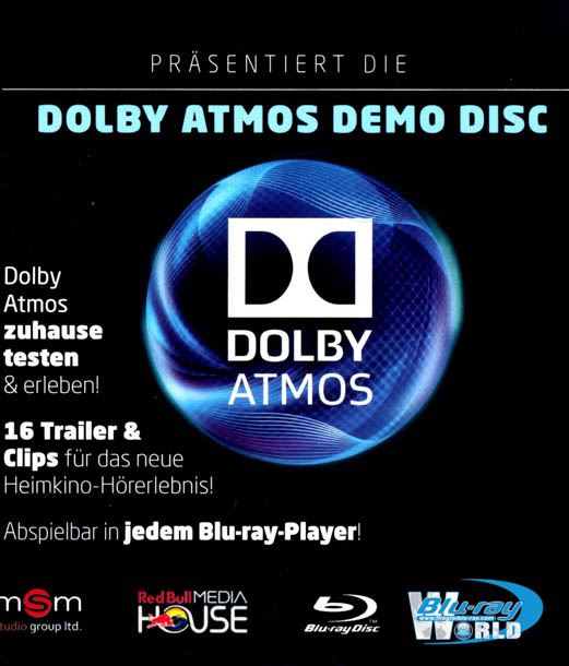 F896. Dolby Atmos Demo Disc Video Edition (25G)