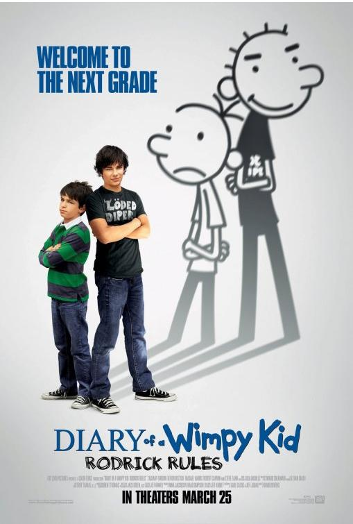 1809 - Diary of a Wimpy Kid Rodrick Rules (2011)
