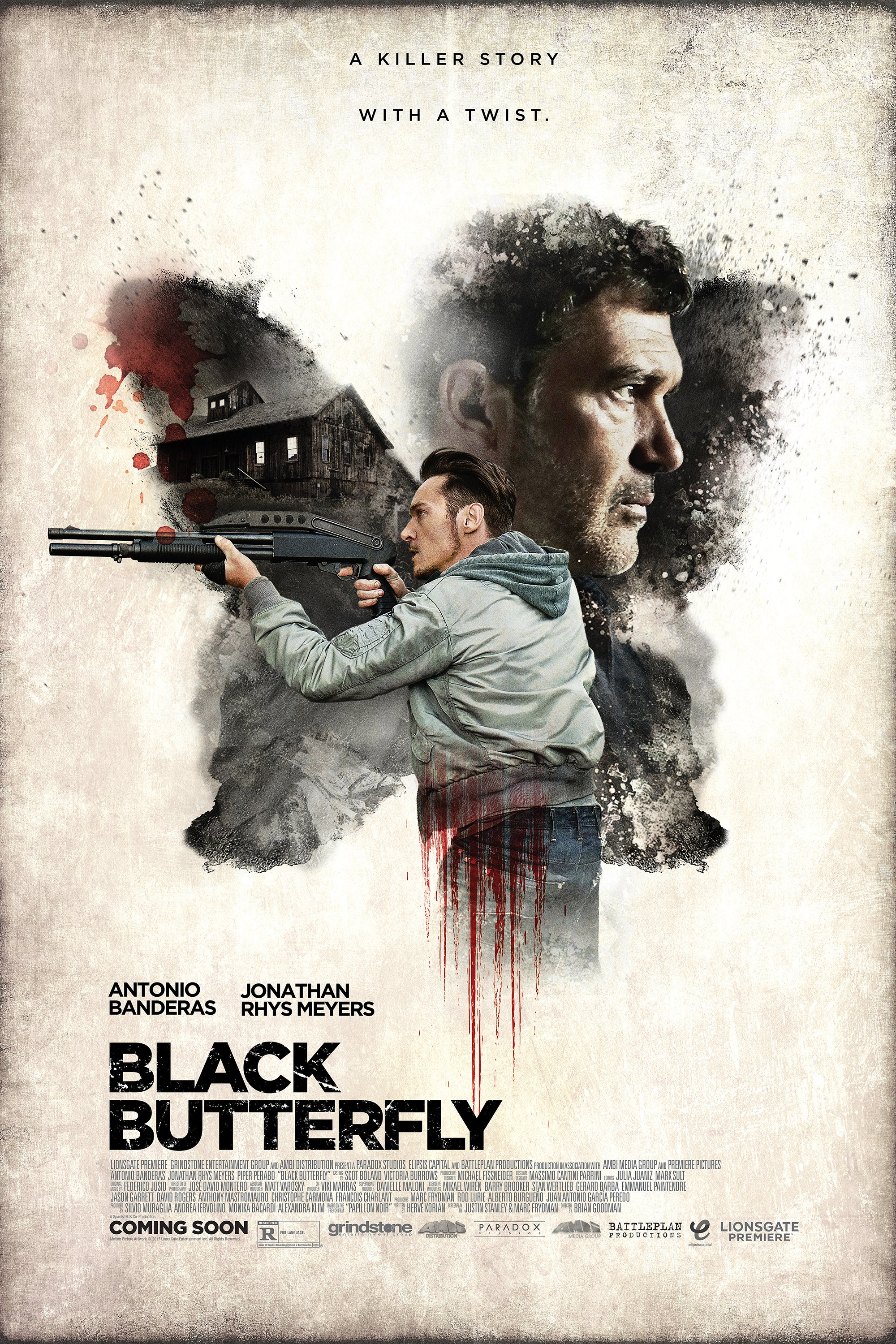HD0673 - Black Butterfly (2017) - Giăng Bẫy