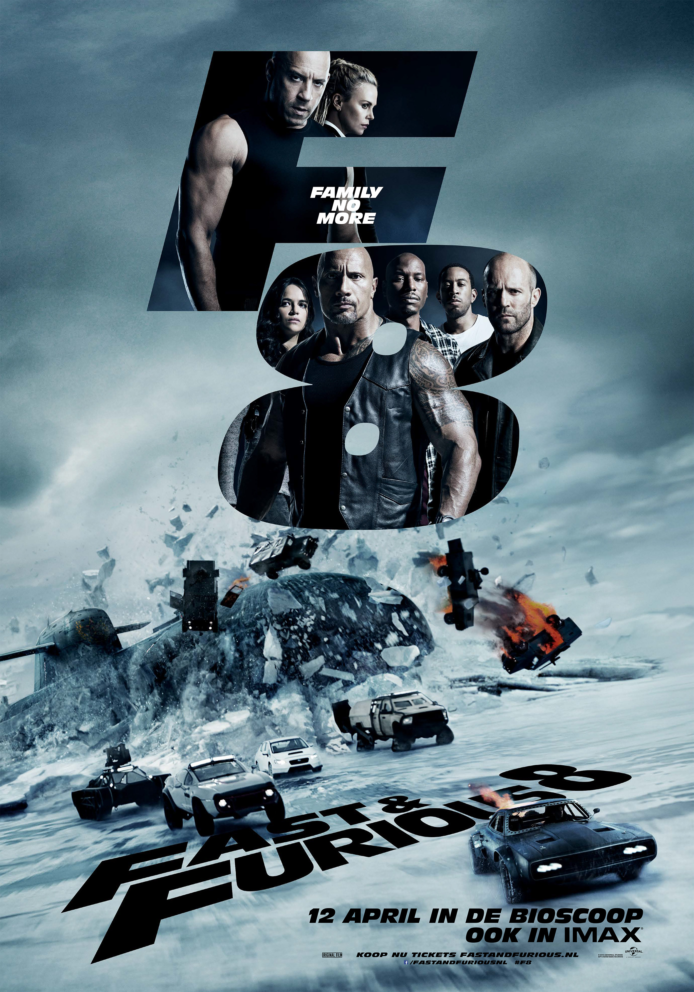 HD0683 - Fast and Furious 8 The Fate Of The Furious (2017) - Quá Nhanh Quá Nguy Hiểm 8