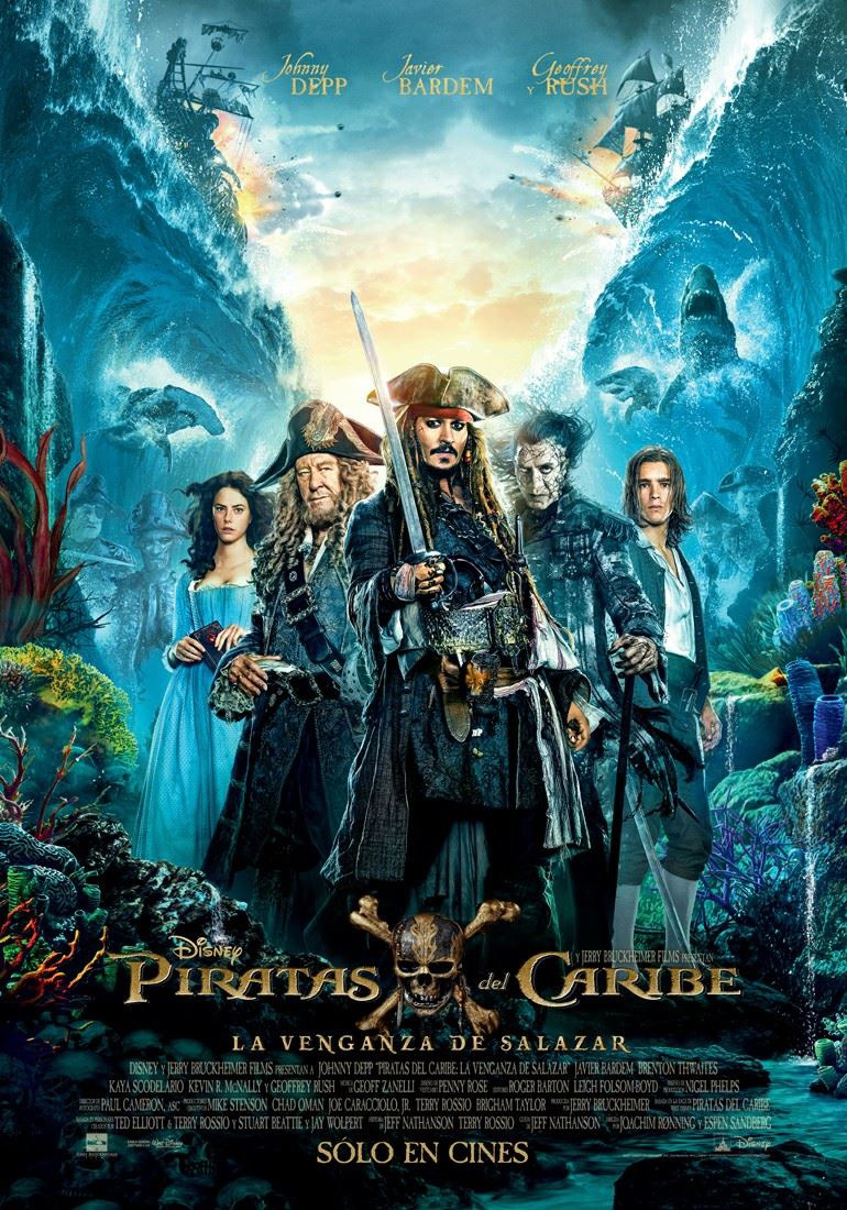 HD0719 - Pirates of the Caribbean Dead Men Tell No Tales 2017 - Salazars Báo Thù