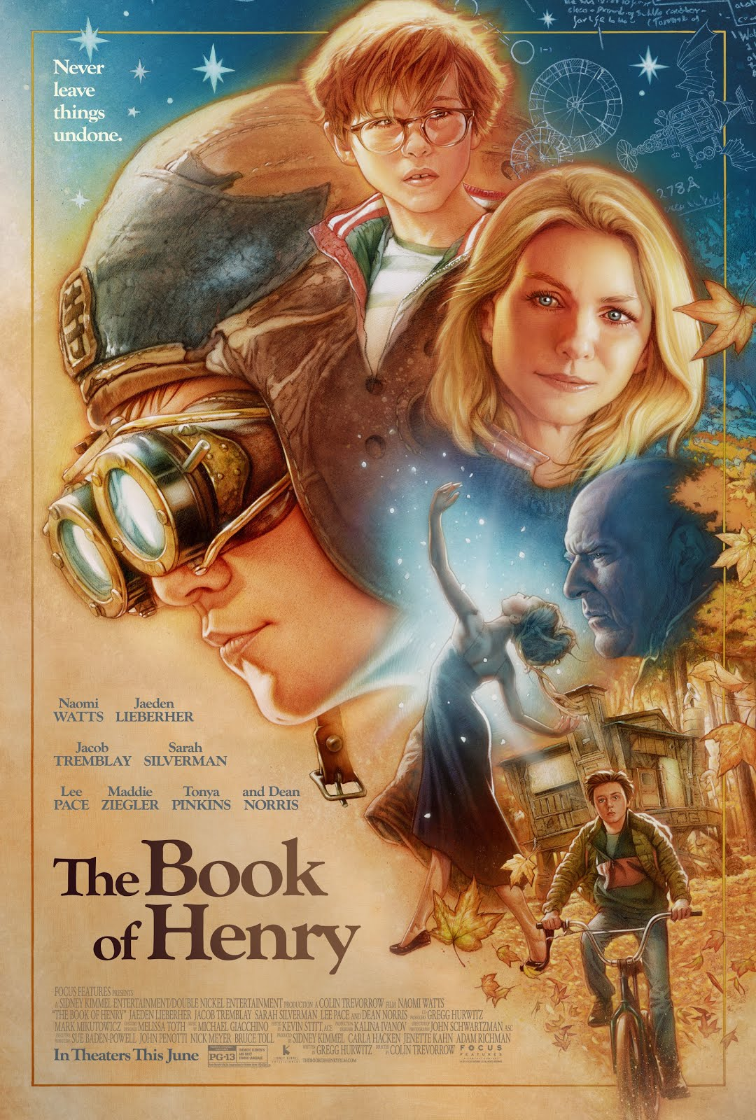 HD0726 - The Book Of Henry 2017 - Cuốn Sổ Của Henry