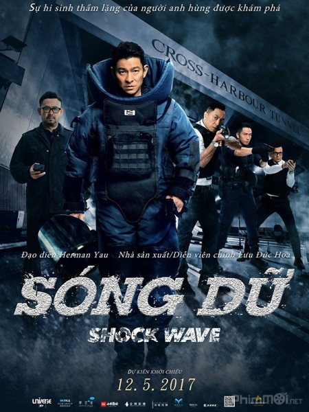 HD0732 - The Shock Wave 2017 - Sóng Dữ