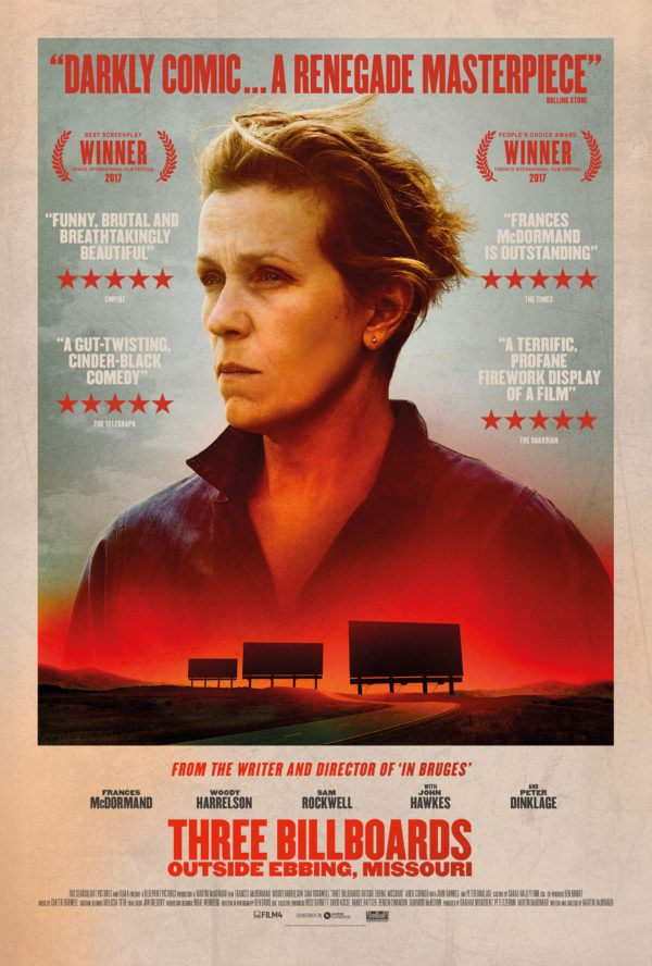 HD0796 - Three Billboards Outside Ebbing Missouri 2017 - Ba Biển Quảng Cáo