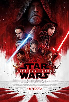 HD0810 - Star Wars VIII The Last Jedi 2017 - Jedi Cuối Cùng 2017
