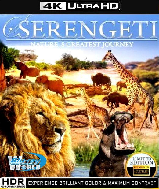 Serengeti 4K Natures Greatest Journey 2015 DOCU 2160p BluRay