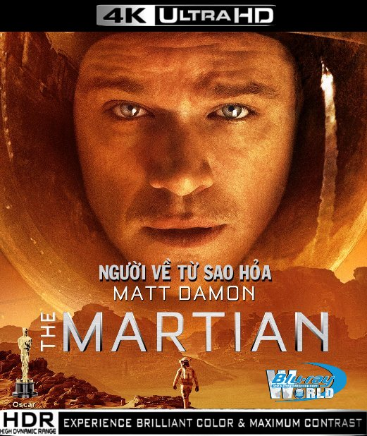 UHD033.The Martian 2015 2160p Ultra HD Blu-ray DTS-HD MA 7 1  (50G)