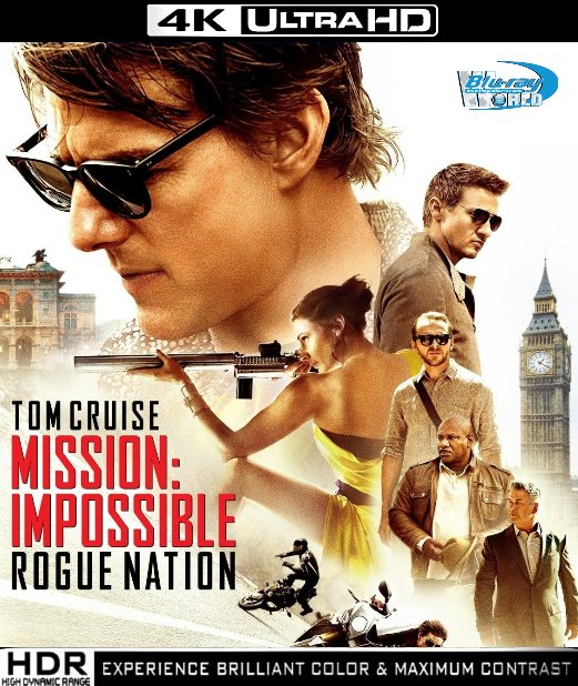 UHD037.Mission Impossible Rogue Nation 2015 2160p (30G)