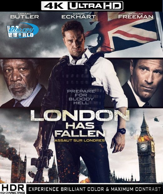 UHD041.London Has Fallen 2016 4K 2160p  (30G)