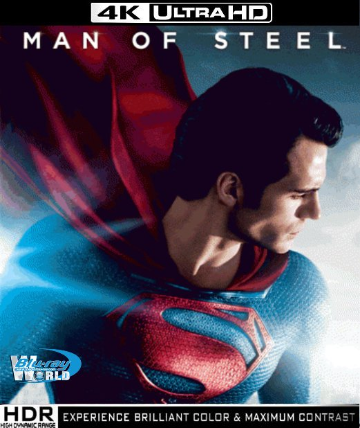 UHD042.Man of Steel 2013 4K 2160p (70G)