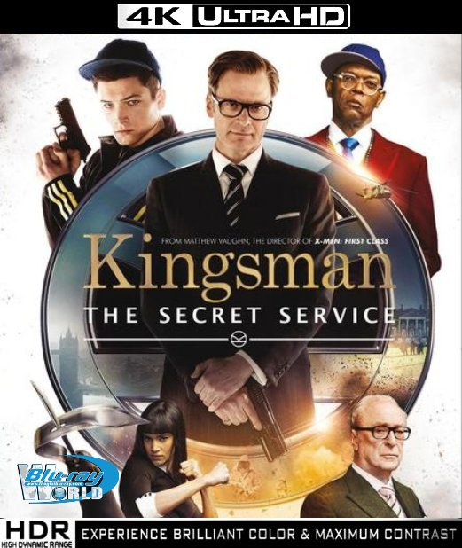 UHD076.Kingsman The Secret Service 2014 4K UHD (65G)