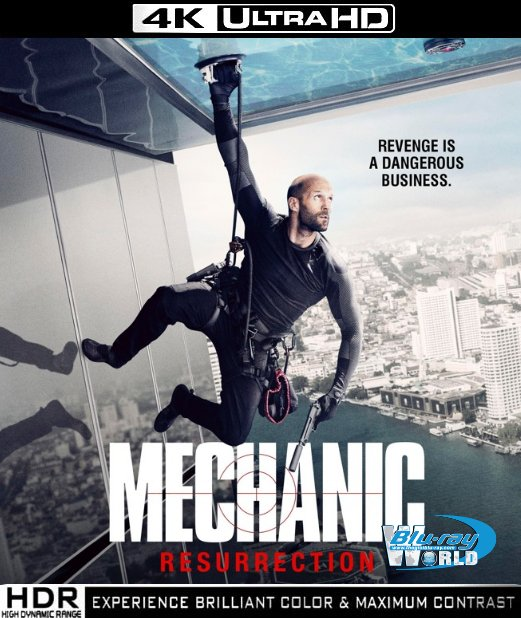 UHD081.Mechanic Resurrection (2016) 4K UHD (55G)