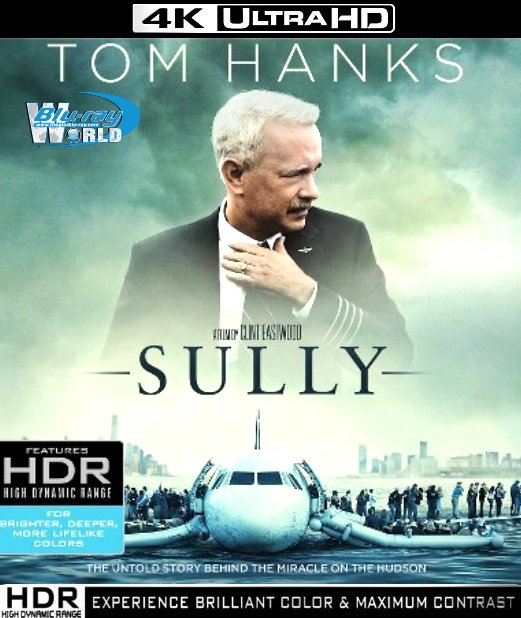 UHD088.Sully 2016 2160p UltraHD Bluray HDR Atmos.7.1  (30G)
