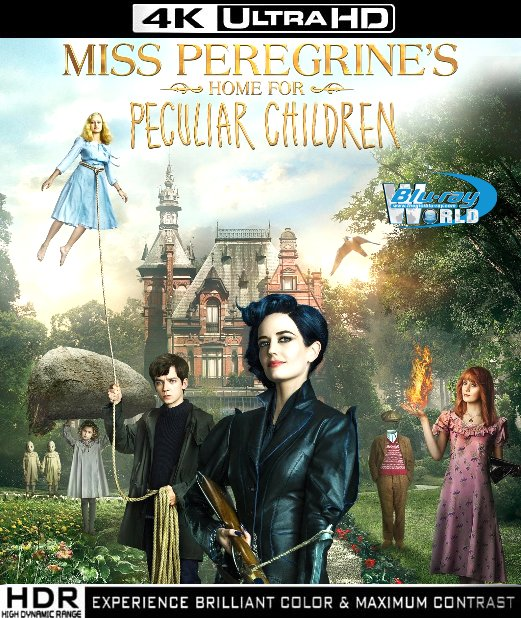 UHD089.Miss Peregrines Home For Peculiar Children 2016 4K UHD (55G)