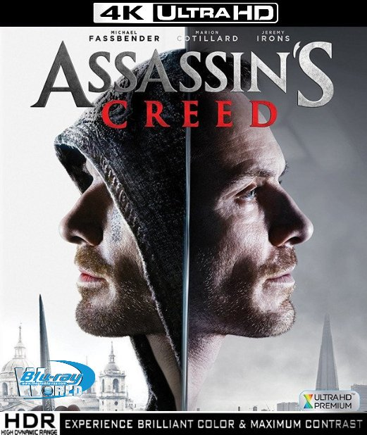 UHD092.Assassins Creed 2016 2160p UltraHDDTS-HD.MA.7.1