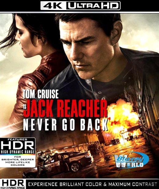 UHD093.Jack Reacher Never Go Back 2016 4K UHD 2160p ATMOS 7.1