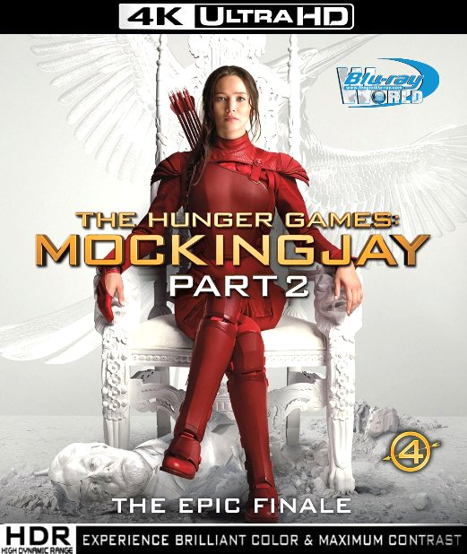 UHD097.The Hunger Games Mockingjay Part 2 (HÚNG NHẠI P.2) 2015 2160p (60G)