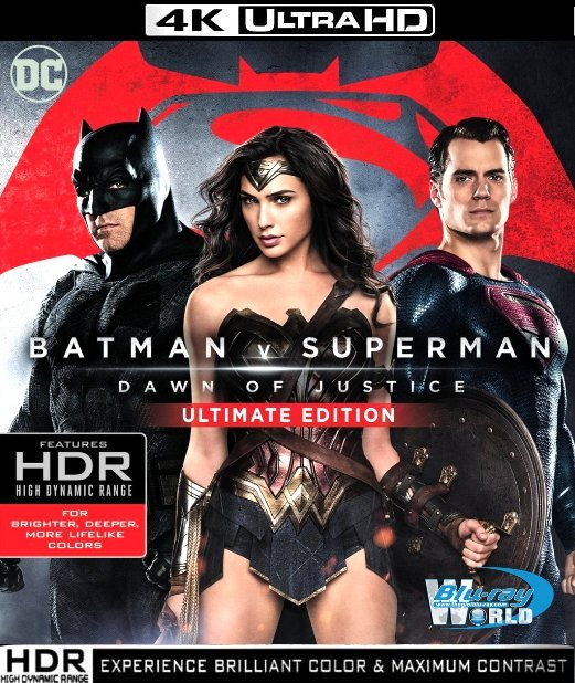 UHD060.Batman v Superman Dawn of Justice 2016 THEATRICAL 2160p UltraHD Bluray TrueHD 7.1 (72 G)
