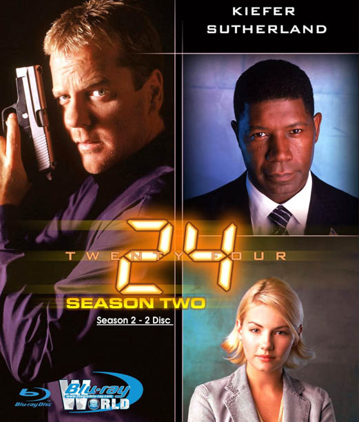 B1034 - 24 HOUR - 24 GIỜ SEASON 2 2D 25G (2 DISC) (DTS-HD 5.1)