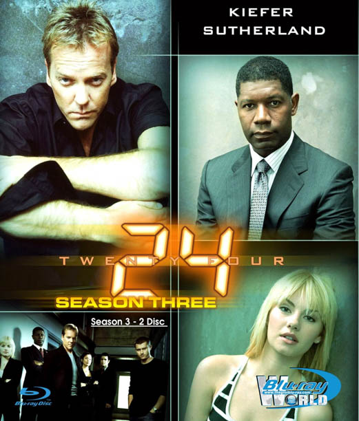 B1035 -24 HOUR - 24 GIỜ SEASON 3 2D 25G (2 DISC) (DTS-HD 5.1)