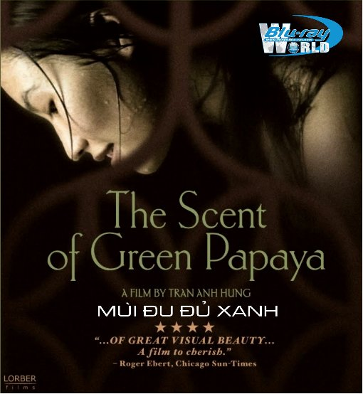 B1080 - The Scent Of Green Papaya - MÙI ĐU ĐỦ XANH (1993) 2D 25G  (DTS-HD MA 5.1)