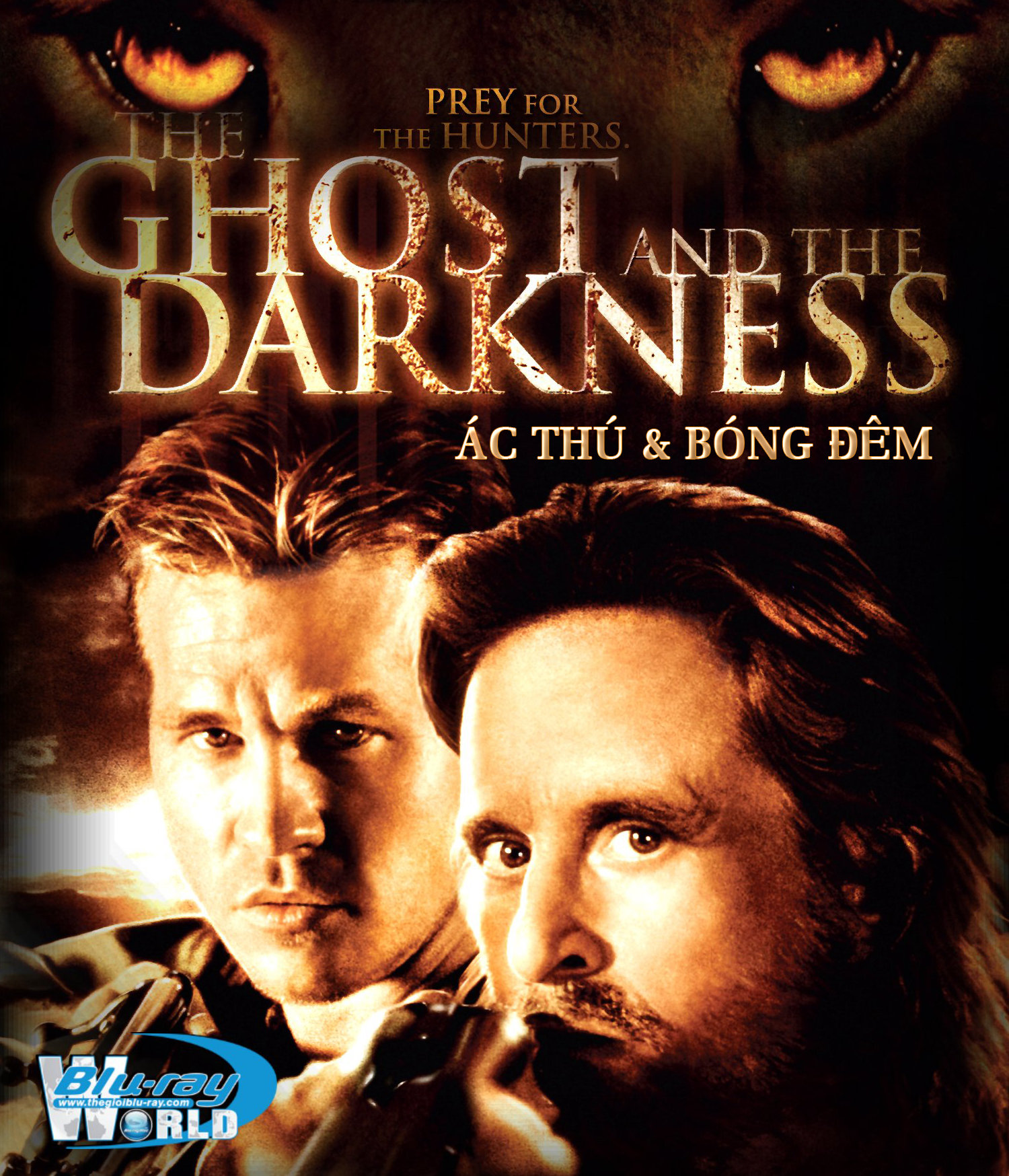 B1509. The Ghost and the Darkness - ÁC THÚ & BÓNG ĐÊM 2D 25G (DTS-HD MA 5.1)