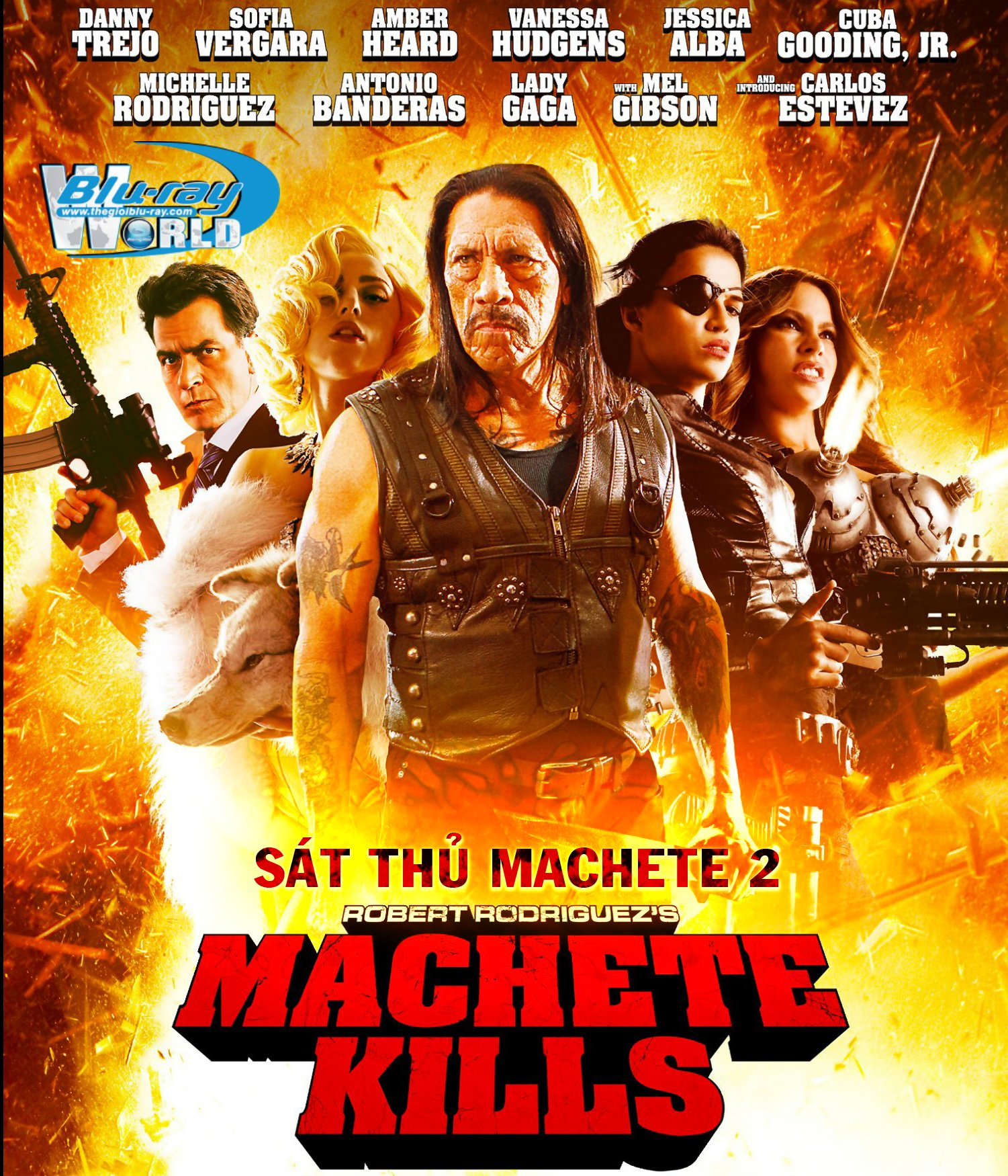 B1576. Machete Kills - SÁT THỦ MACHETE 2 2D 25G (DTS-HD MA 5.1)